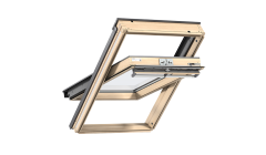 Centre Pivot Roof Window- VELUX Comfort- Pine Finish