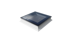 Flat Roof Window OKPOL with Flat Glass- Fixed
