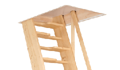 Σταθερή Εσωτερική Σκάλα Παταριού Clever
