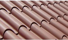 Insulated Roof Panels - Roman Tile / Wood Effect