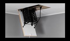 Metal Loft Ladder- Accordion Type OMAN