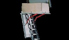 Metal Terrace Ladder- Accordion Type Minka