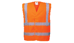 Hi Vis Two Band & Brace Vest Orange C470- Portwest