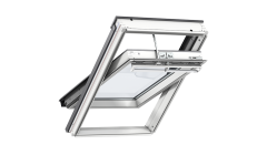 Centre Pivot Roof Window- VELUX Premium Auto- White Painted Finish