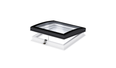 Flat Roof Window VELUX with Curved Glass- Vented
