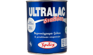 ULTRALAC ΔΙΑΛΥΤΗ- Βερνικόχρωμα (ριπολίνη) οικοδομών- Χρωτέχ