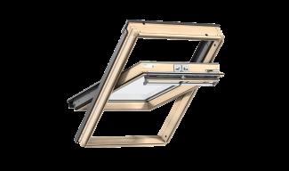 Ενεργειακά Παράθυρα Στέγης Κεντρικού Άξονα- VELUX Comfort- Φυσικό Ξύλο