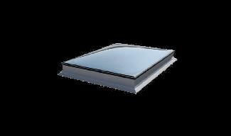 Παράθυρο Επίπεδης Οροφής Okpol με Καμπύλο Εξωτερικό Υαλοπίνακα- Σταθερό