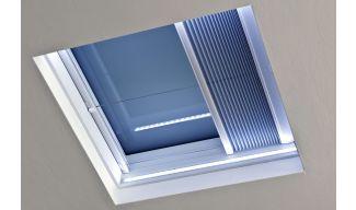 Πτυχωτή Κουρτίνα Παραθύρων Επίπεδης Οροφής OKPOL - Χειροκίνητη