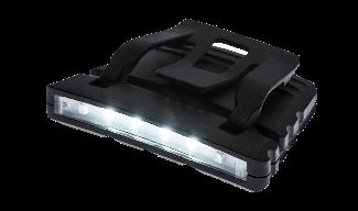 Φακός LED για προσαρμογή σε καπέλο ή κράνος- Portwest