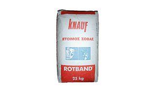 Έτοιμος Σοβάς Knauf Rotband 25kg