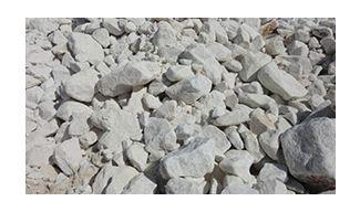 Ασβέστη σε πέτρα για γεωργικές χρήσεις
