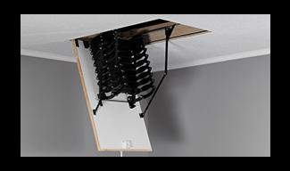 Μεταλλική Σκάλα Οροφής- Φυσαρμόνικα OMAN
