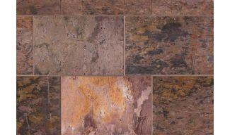 Δάπεδα Ορθογώνια- Φυσικά Σχιστολιθικά- Multi 40x60- Ακρόλιθος