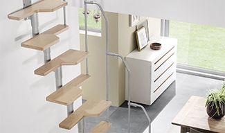 Σταθερή Εσωτερική Σκάλα Εξοικονόμησης Χώρου Twister