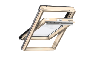 Centre Pivot Roof Window- VELUX Standard- Pine Finish