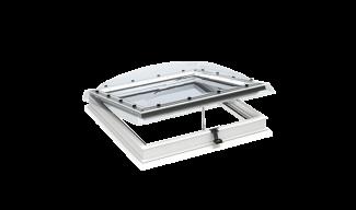 Παράθυρα Επίπεδης Οροφής VELUX με Ακρυλικό ή Πολυκαρβονικό Εξωτερικό Θόλο- Ανοιγόμενα