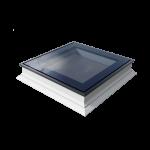Flat Roof Window OKPOL with Flat Glass- Fixed