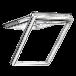 Ενεργειακά Παράθυρα Στέγης Άνω Άξονα- VELUX Comfort- GPL- Λευκά Βαμμένο Ξύλο