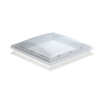 Flat Roof Window VELUX with Curved Dome- Fixed