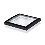 Flat Roof Window VELUX with Curved Glass- Fixed